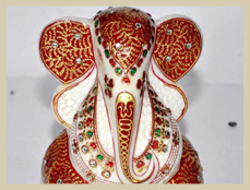 Lord Shree Ganesh Ji Marble Sculpture