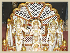 Lord Shree Ram Marble Sculpture